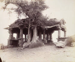 View from the south-east of the Someshvara Temple at Kanoda, Gujarat